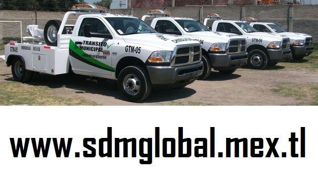 conversion venta gruas plataforma fabrica equipamiento camiones